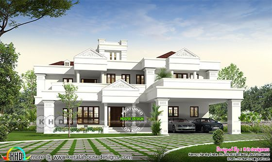 Colonial touch ₹96 lakhs estimated home