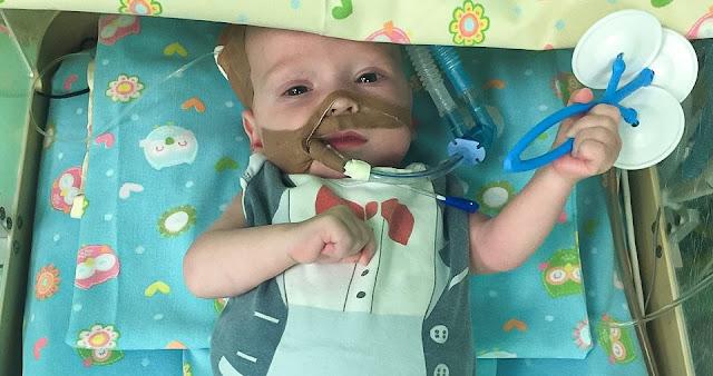 В Челябинске спасли малыша с огромным сердцем