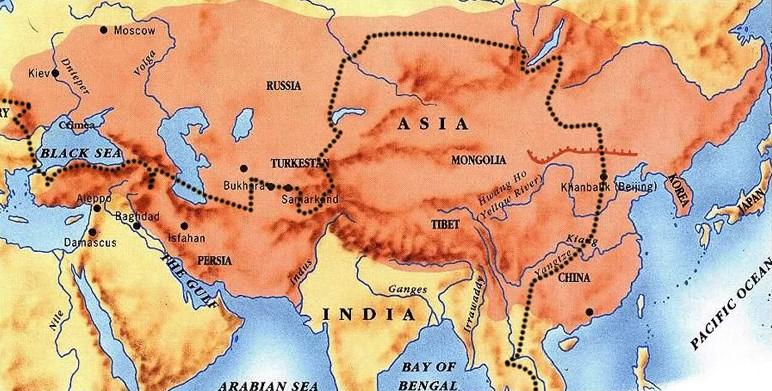 Império Mongol na Ásia Central