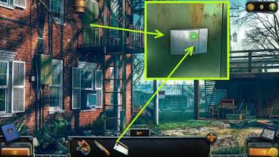 применяем ключ карту на дверях в игре загадки нью - йорка пробуждение