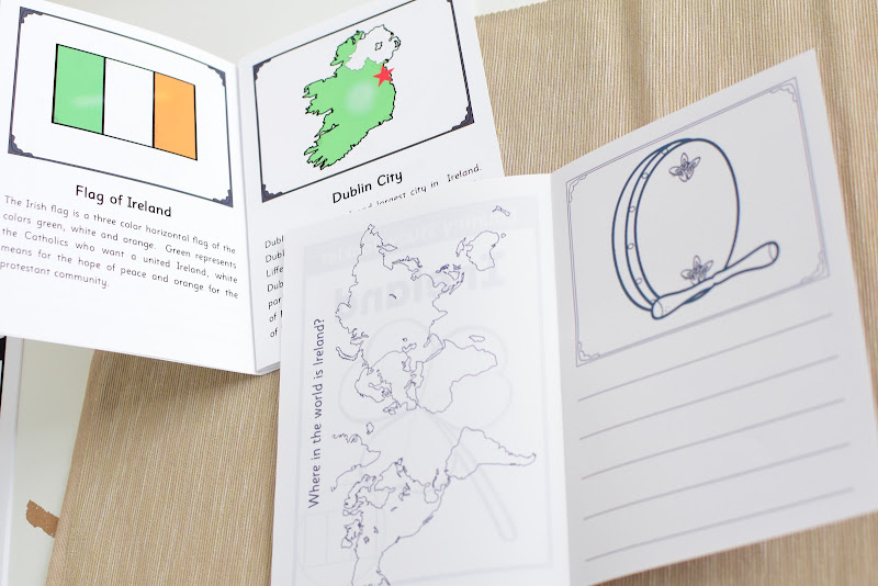 Ireland Country Study: Reading Booklet (Elementary)