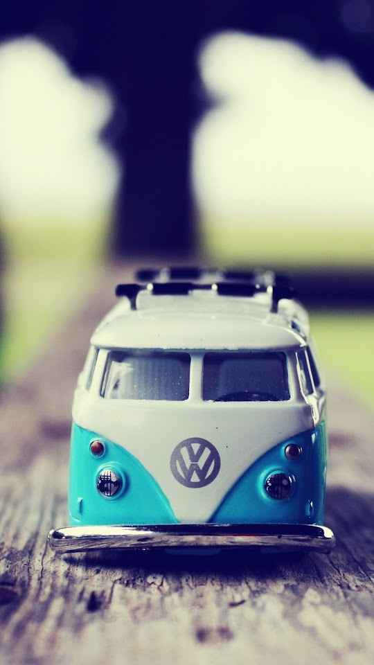 Miniature Volkswagen Van  Galaxy Note HD Wallpaper