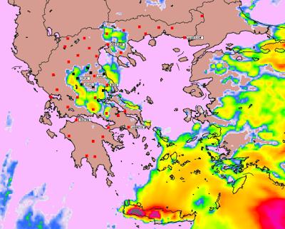 7 - Υψηλές θερμοκρασίες και επιλεκτικές βροχές την Παρασκευή