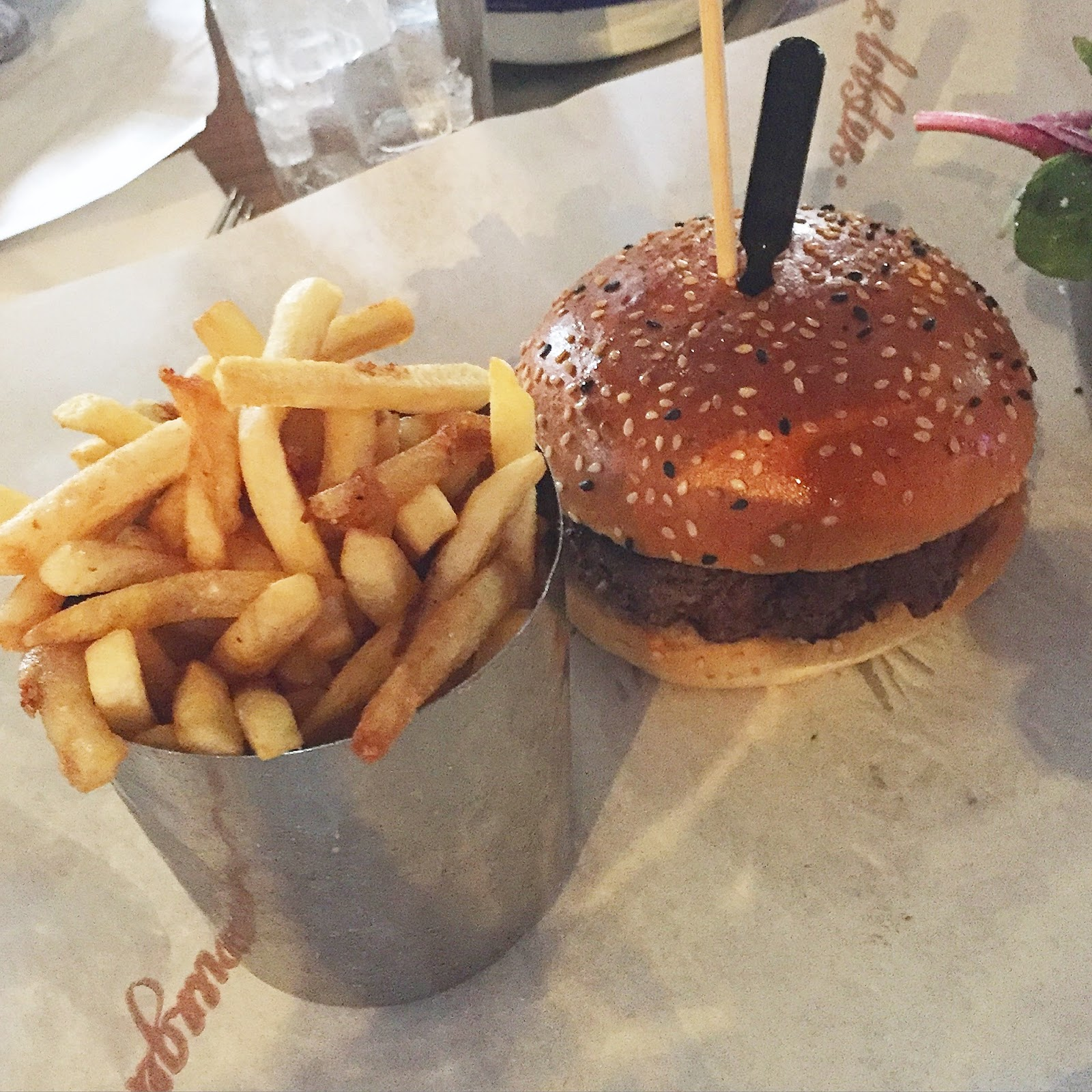 All things beautiful menu tasting at cardiff 39 s burger and for Absolute cuisine