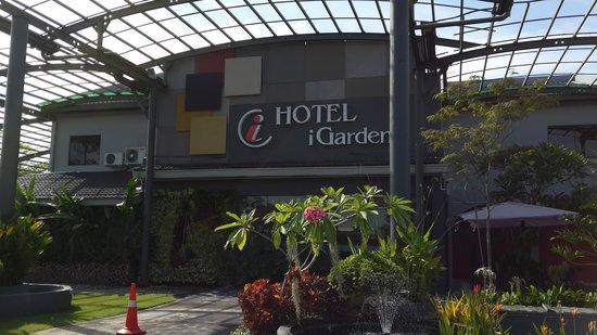 TIGA HARI DUA MALAM DI I GARDEN HOTEL,  IPOH