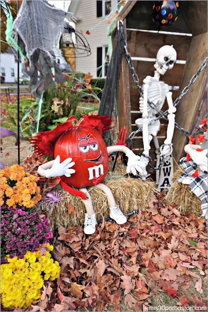 M&M'S Diablo Calabaza en New Hampshire