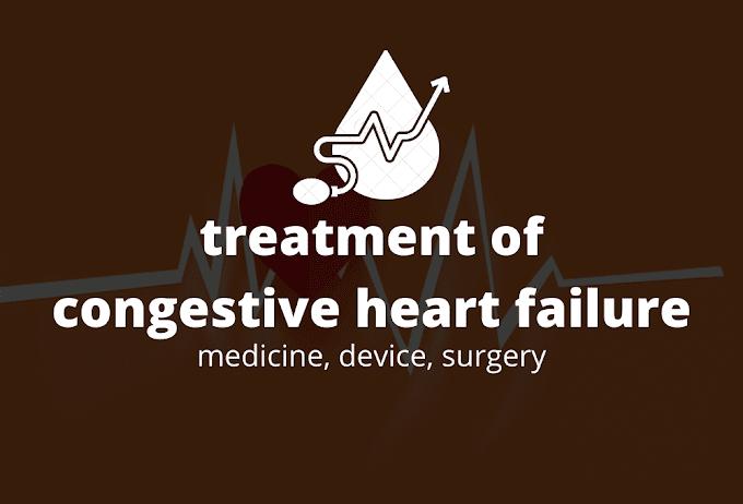 Treatment of congestive heart failure #medicine,device,surgery
