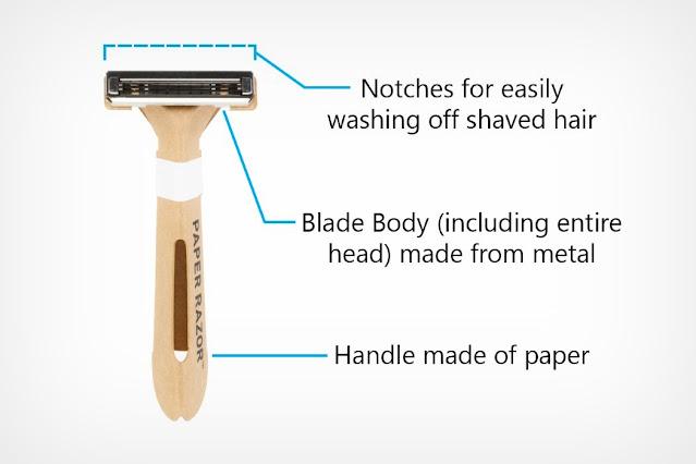 Paper Razor disposable razor