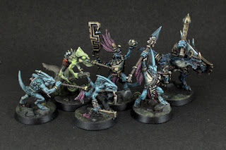 Starblood Stalkers - whole warband