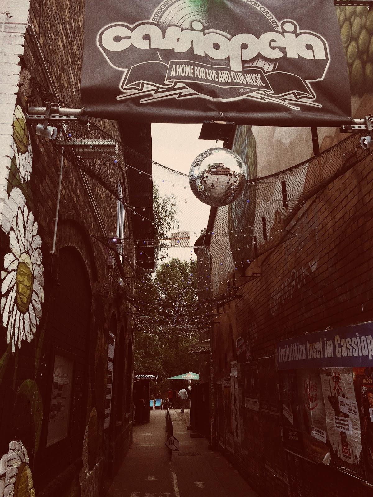 Hipsterskie ulice w Berlinie