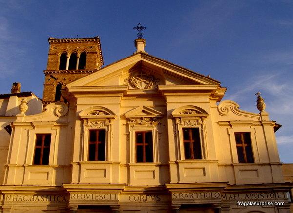 Igreja de São Bartolomeu, na Ilha Tiberina, Roma