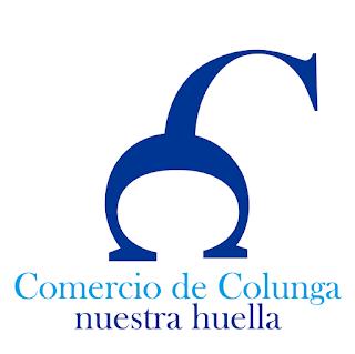 logotipo de  Comercio de Colunga nuestra huella