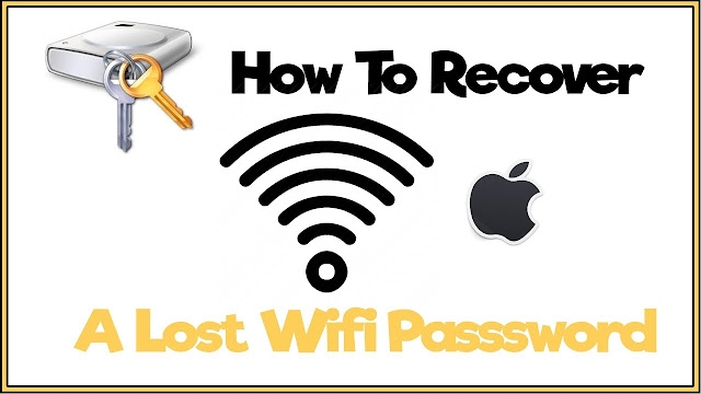 recover wifi password steps