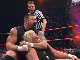 WCW Superbrawl Revenge 2001 - Rick Steiner defended the US title against Dustin Rhodes