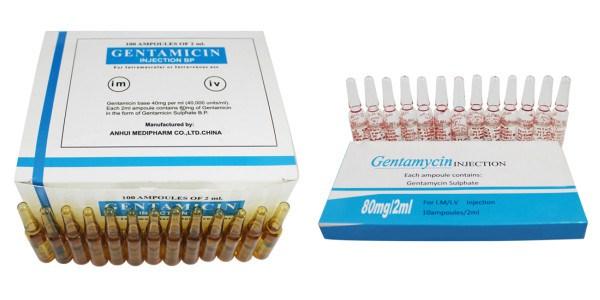 سعر ودواعى إستعمال جنتاميسين Gentamicin أمبولات حقن مضاد حيوى واسع المجال