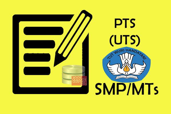 Soal Pts Uts Matematika Kelas 7 Semester 1 Smp Mts Terbaru