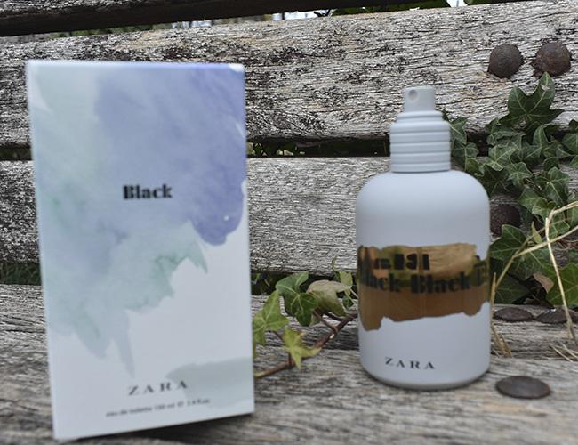 Agua de tocador Black de ZARA