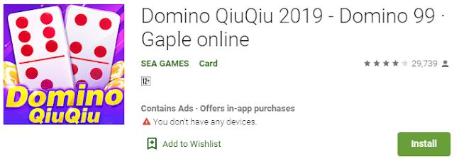 Game Domino QiuQiu Online Terbaru 2020