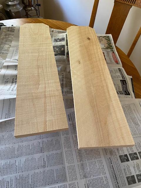 Photo of two cedar fence board lengths
