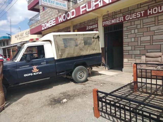 Police in Kitui