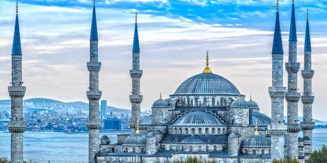 masjid, masjid biru, istanbul, hagia sophia