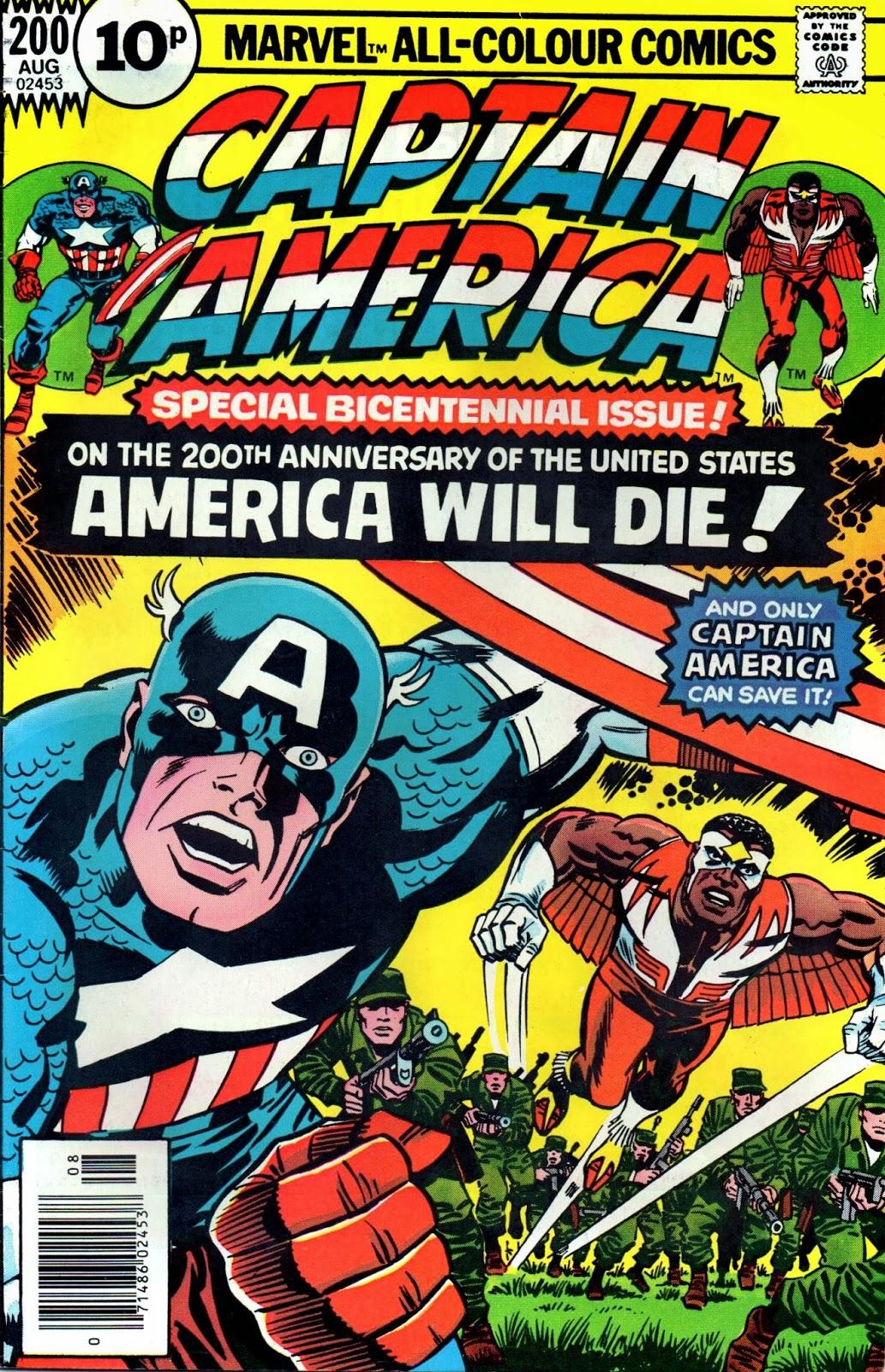 Crivens Comics Amp Stuff Kirby S Captain America Cover