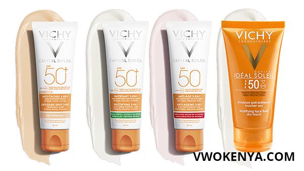 Thông tin về kem chống nắng Vichy