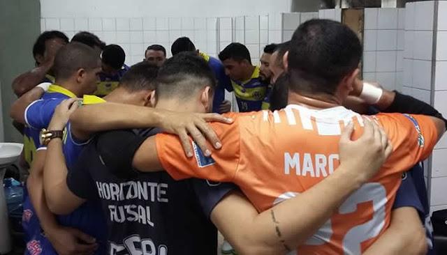 Horizonte Futsal joga fácil e faz 7x0 no SUMOV pelo Cearense de Futsal