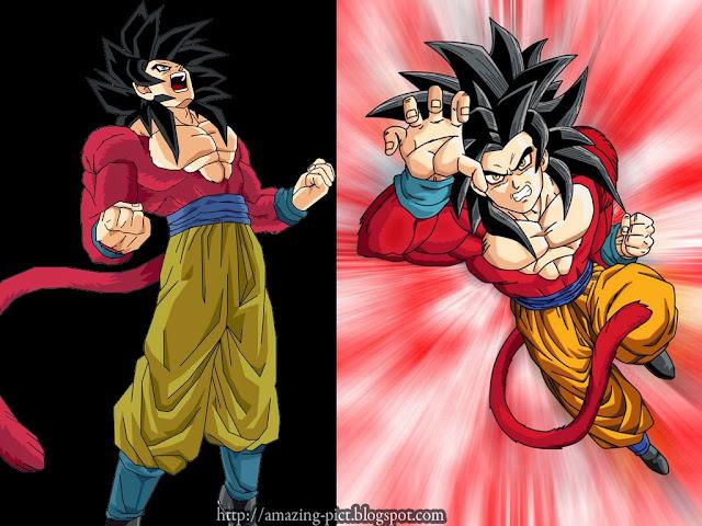 Goku 1 20super Saian Download: Goku Super Saiyan 4 Dragon Ball Z Kai Wallpaper
