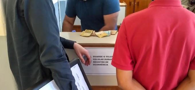 Brigada Militar apreende mais de R$ 6 mil sem procedência