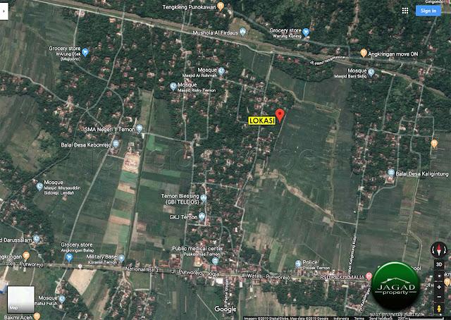 Tanah di Temon dekat Bandara Baru