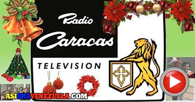 Todos los mensajes de Navidad de RCTV desde los años 80