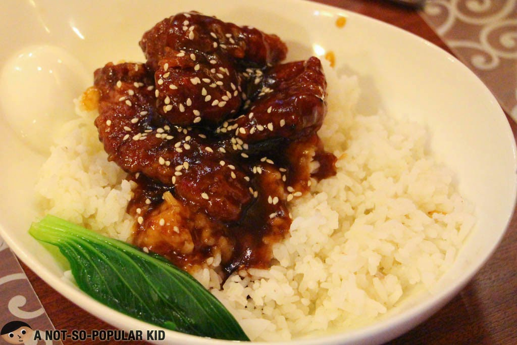 Imperial Pork Ribs - sweet and savory but unappetizing to look at