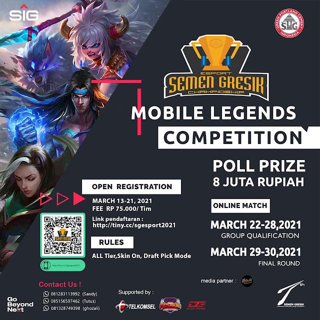 Esport Semen Gresik Championship Mobile Legends Competition
