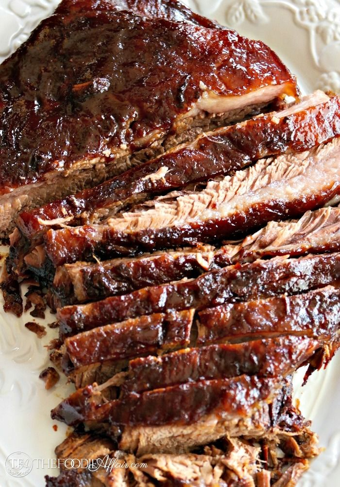 DELICIOUS OVEN COOKED BARBECUE BRISKET #dinner #bbq #familyrecipe #easy #food