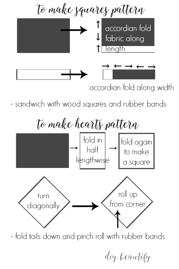 guide to folding and wrapping fabric