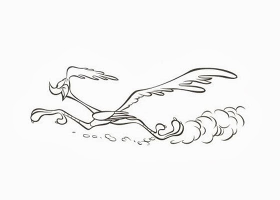 Road runner coloring page | Free Coloring Pages and ...