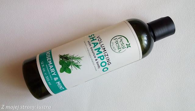 szampon zwiększający objętość włosów petal fresh