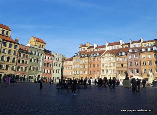 qué ver en Varsovia, casco antiguo