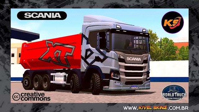 SCANIA P320 CAÇAMBA - XT EDITION CINZA