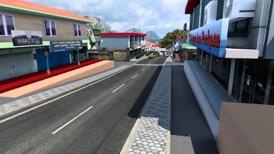 Map Sundanese Rework ETS2 1.41 Untuk Convoy