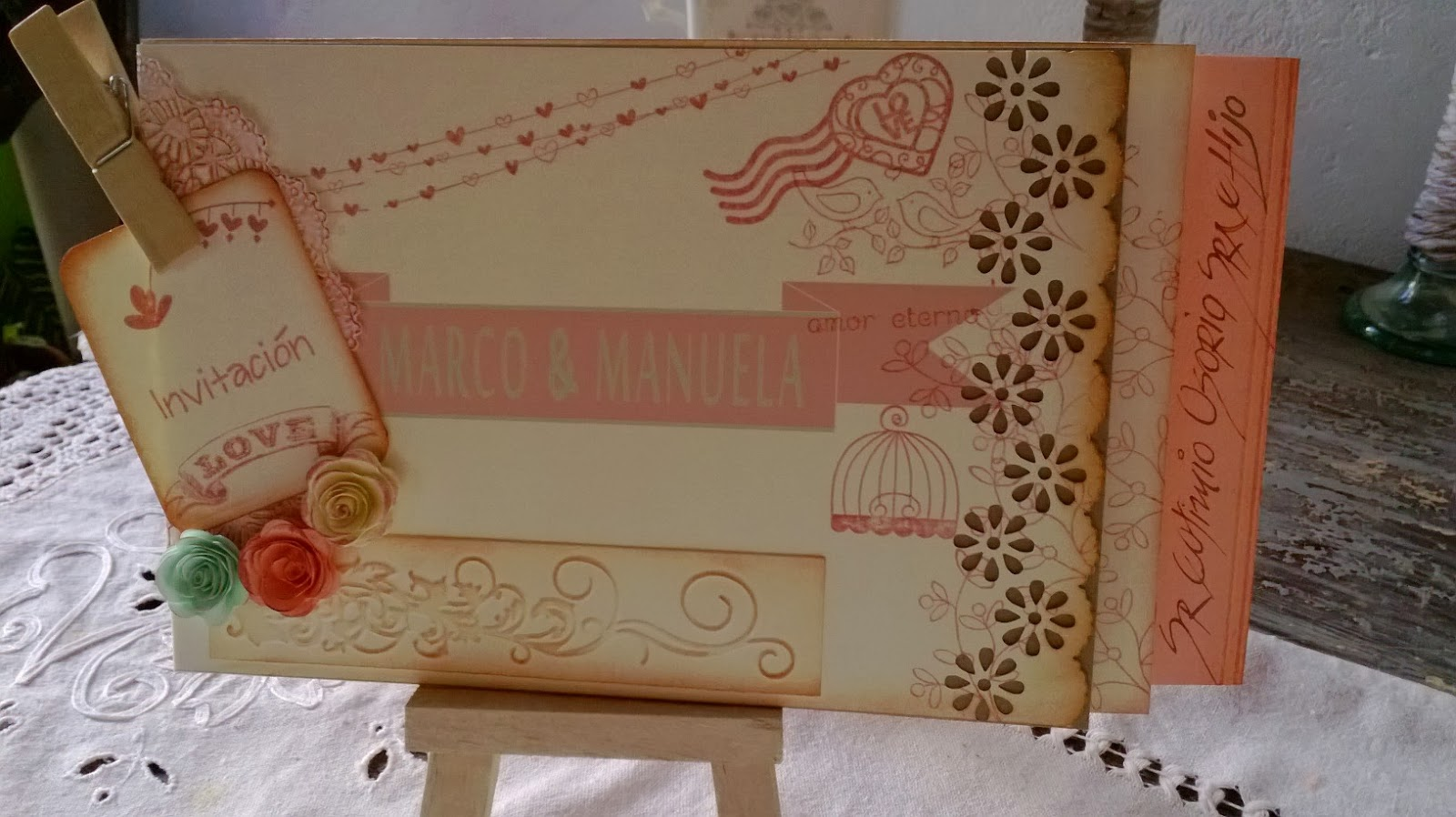Bodas dise os marta correa tarjetas de invitaci n a bodas - Disenos tarjetas de boda ...