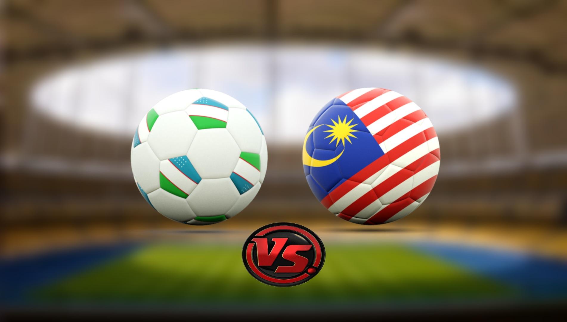 Live Streaming Uzbekistan vs Malaysia Persahabatan Antarabangsa 9.10.2021