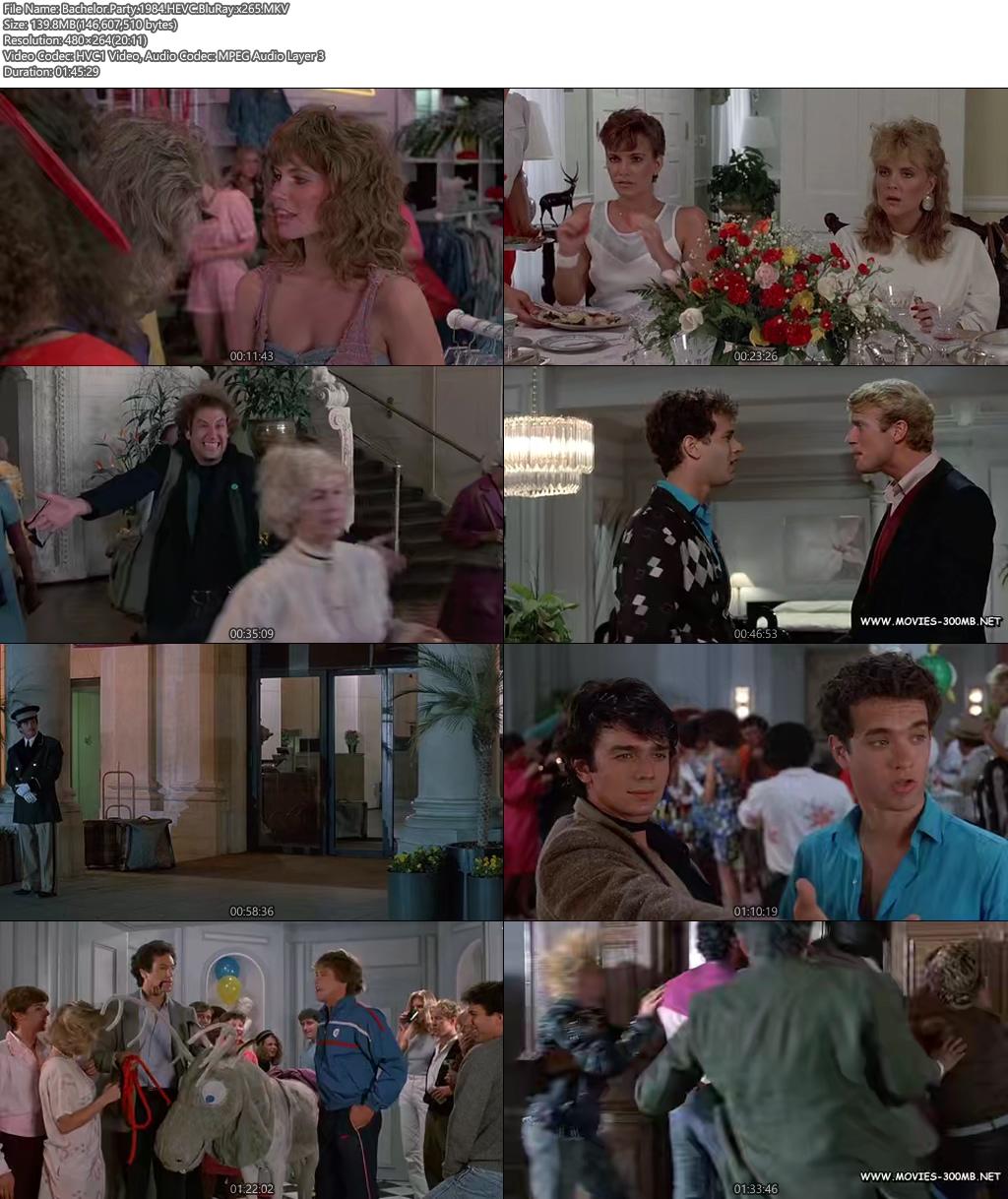 BachelorParty 1984 HEVC BluRay 100MB x265 Screenshot