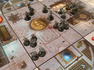 A tense game of The Horus Heresy: Burning of Prospero