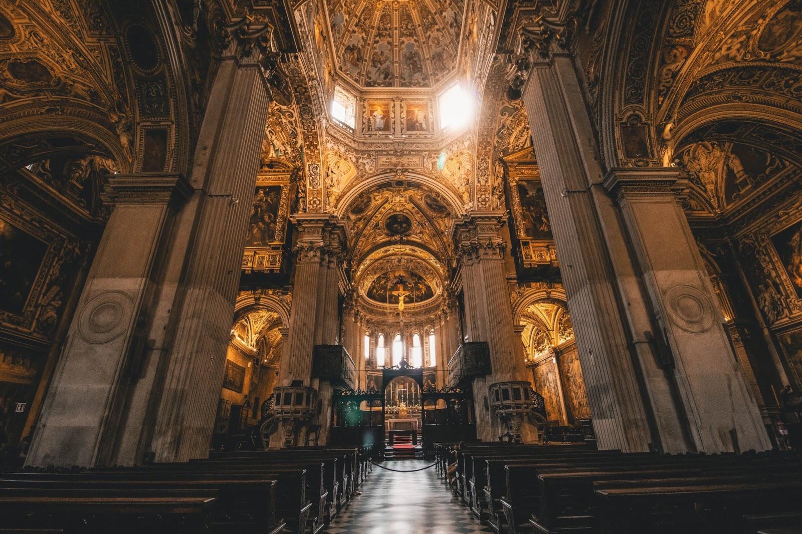 basilique Bergame Italie