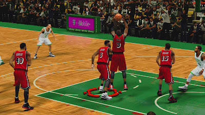 NBA 2K13 Heat Red Retro Jersey NBA2K Patch