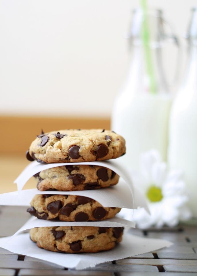 Cookies de huevo cocido