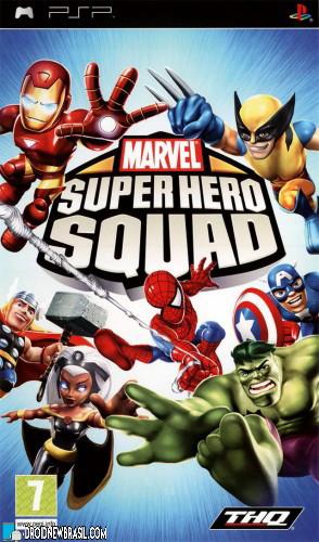 Download Marvel: Super Hero Squad PSP [CSO/ISO]