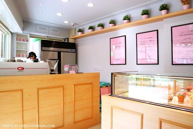 IMG 2283 - 逢甲商圈│LUSI CAFE。逢甲甜點店新開幕,精緻韓式奶油杯子蛋糕美到冒泡